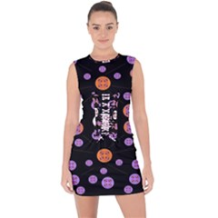 Planet Say Ten Lace Up Front Bodycon Dress