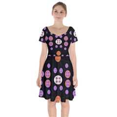 Planet Say Ten Short Sleeve Bardot Dress
