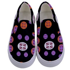 Planet Say Ten Kids  Canvas Slip Ons