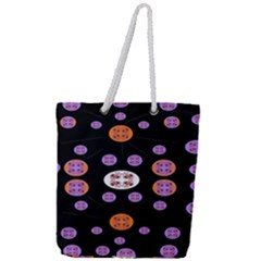 Planet Say Ten Full Print Rope Handle Tote (large)