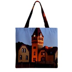 Blue Hour Colliery House Grocery Tote Bag