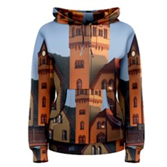 Blue Hour Colliery House Women s Pullover Hoodie
