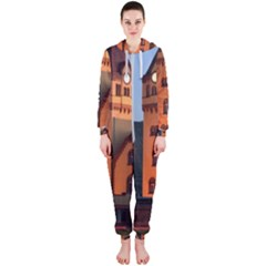 Blue Hour Colliery House Hooded Jumpsuit (ladies)
