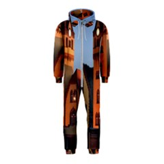Blue Hour Colliery House Hooded Jumpsuit (kids)