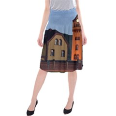 Blue Hour Colliery House Midi Beach Skirt