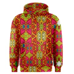 Abstract Background Pattern Doodle Men s Pullover Hoodie