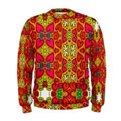 Abstract Background Pattern Doodle Men s Sweatshirt