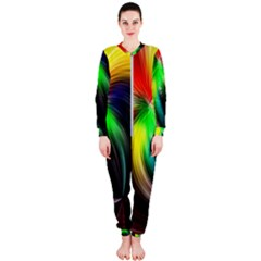 Circle Lines Wave Star Abstract Onepiece Jumpsuit (ladies)