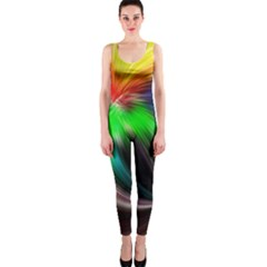 Circle Lines Wave Star Abstract Onepiece Catsuit