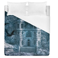Church Stone Rock Building Duvet Cover (queen Size)