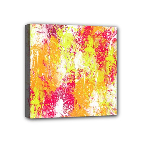 Painting Spray Brush Paint Mini Canvas 4  X 4