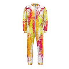 Painting Spray Brush Paint Onepiece Jumpsuit (kids)