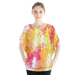 Painting Spray Brush Paint Blouse
