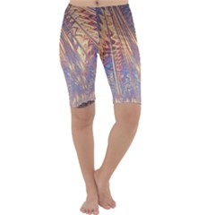 Flourish Artwork Fractal Expanding Cropped Leggings