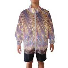 Flourish Artwork Fractal Expanding Wind Breaker (kids)
