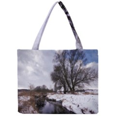 Winter Bach Wintry Snow Water Mini Tote Bag