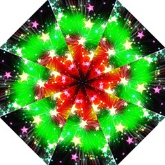 Star Abstract Pattern Background Folding Umbrellas
