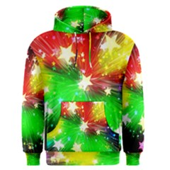 Star Abstract Pattern Background Men s Pullover Hoodie