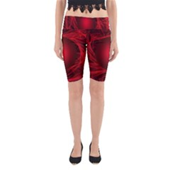 Abstract Scrawl Doodle Mess Yoga Cropped Leggings