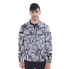 White Leaves Wind Breaker (men)