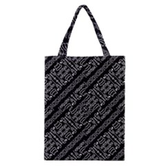 Tribal Stripes Pattern Classic Tote Bag