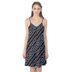 Tribal Stripes Pattern Camis Nightgown