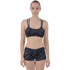 Tribal Stripes Pattern Women s Sports Set