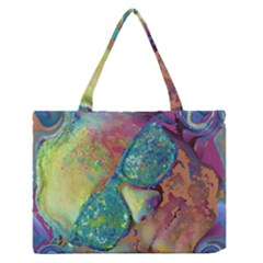 Holi Zipper Medium Tote Bag