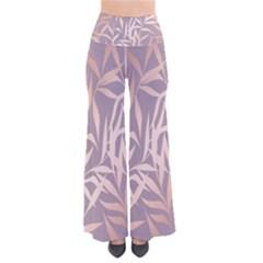 Rose Gold, Asian,leaf,pattern,bamboo Trees, Beauty, Pink,metallic,feminine,elegant,chic,modern,wedding Pants