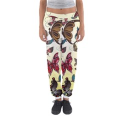 Colorful Butterflies Women s Jogger Sweatpants