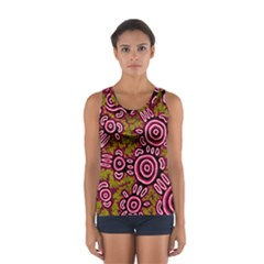 Aboriginal Art   You Belong Sport Tank Top