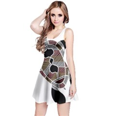 Aboriginal Art   Untitled Reversible Sleeveless Dress