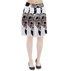 Aboriginal Art   Untitled Pleated Skirt