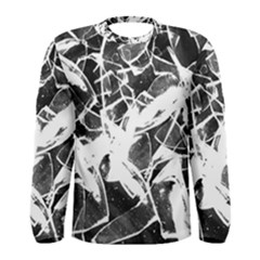 Broken Glass  Men s Long Sleeve Tee
