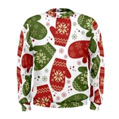 Winter Snow Mittens Men s Sweatshirt