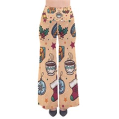 Cute Vintage Christmas Pattern Pants