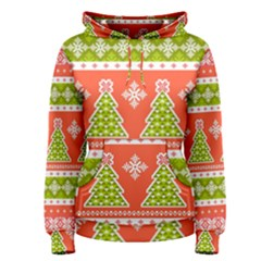 Christmas Tree Ugly Sweater Pattern Women s Pullover Hoodie