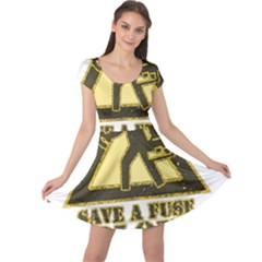 Save A Fuse Blow An Electrician Cap Sleeve Dress