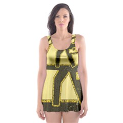 Save A Fuse Blow An Electrician Skater Dress Swimsuit