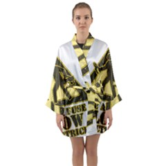 Save A Fuse Blow An Electrician Long Sleeve Kimono Robe