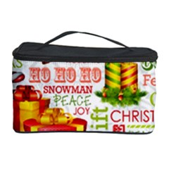 The Joys Of Christmas Cosmetic Storage Case