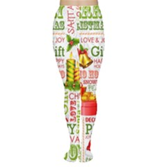 The Joys Of Christmas Women s Tights