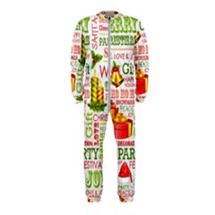The Joys Of Christmas Onepiece Jumpsuit (kids)