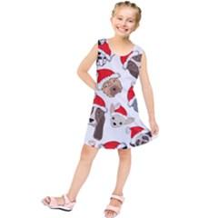 Christmas Puppies Kids  Tunic Dress