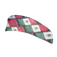 Mexican Flag Pattern Design Stretchable Headband