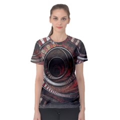 The Thousand And One Rings Of The Fractal Circus Women s Sport Mesh Tee