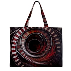 The Thousand And One Rings Of The Fractal Circus Mini Tote Bag