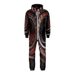 The Thousand And One Rings Of The Fractal Circus Hooded Jumpsuit (kids)