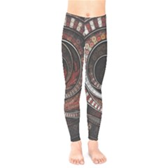 The Thousand And One Rings Of The Fractal Circus Kids  Legging