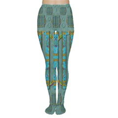 Freedom Is Every Where Just Love It Pop Art Women s Tights